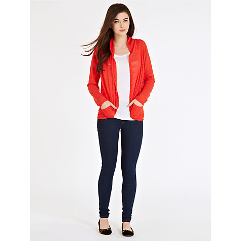 Buy Oasis Cut and Sew Cardigan Online at johnlewis.com