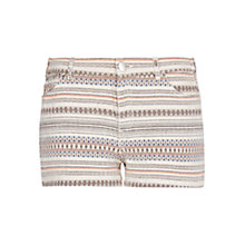 Buy Mango Ethnic Jacquard Shorts, Multi Online at johnlewis.com