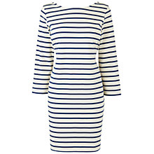 Buy Boutique by Jaeger Tara Dress, Navy Online at johnlewis.com