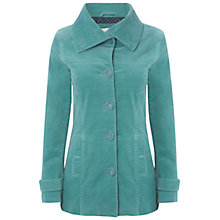 Buy White Stuff Button Oh Natural Coat, Kingfisher Online at johnlewis.com