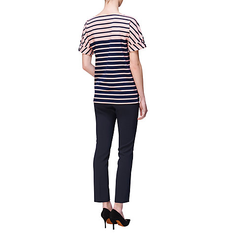 Buy Jaeger London Roll Sleeve Jersey Top Online at johnlewis.com