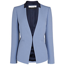 Buy Jaeger Tailored Blazer, Light Blue Online at johnlewis.com