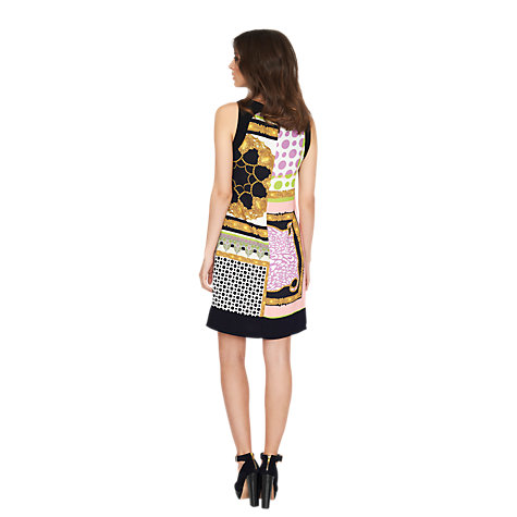 Buy James Lakeland Sleeveless Print Dress, Pink Online at johnlewis.com