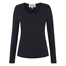 Buy Havren Long Sleeve T-Shirt, Navy Online at johnlewis.com
