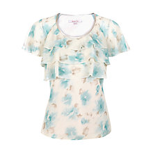 Buy Jacques Vert Floral Print Top Online at johnlewis.com