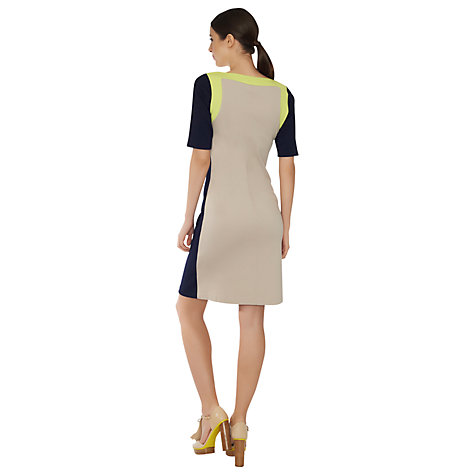 Buy James Lakeland Tricolour Panel Dress, Multi Online at johnlewis.com