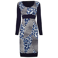 Buy James Lakeland Printed Sleeved Dress Online at johnlewis.com