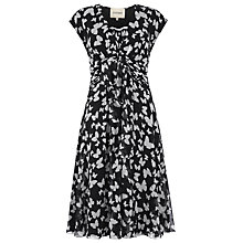 Buy Havren Butterfly Dress, Black/White Online at johnlewis.com