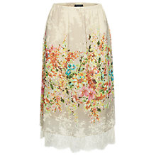 Buy James Lakeland Lace Print Skirt, Multi Online at johnlewis.com
