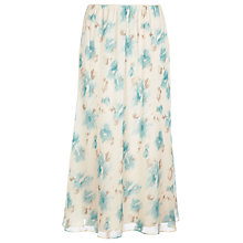 Buy Jacques Vert Blurred Floral Print Skirt Online at johnlewis.com