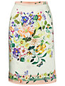 James Lakeland Flower Print Skirt