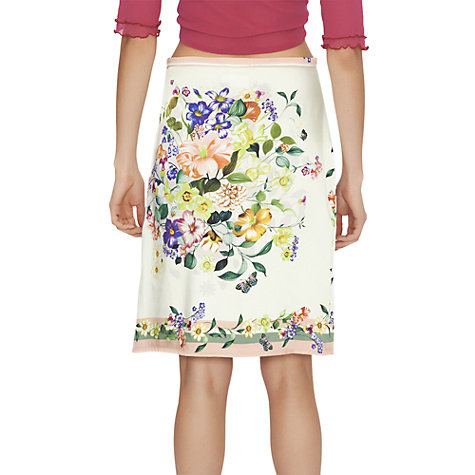 Buy James Lakeland Flower Print Skirt Online at johnlewis.com