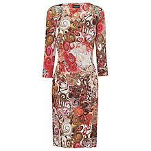 Buy James Lakeland Swirl Print Dress, Red Online at johnlewis.com