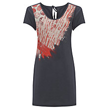 Buy Sandwich Long Jersey Tunic Top, Evening Sky Online at johnlewis.com