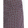 Buy Weekend by MaxMara Tile Print Jersey Skirt, Bordeaux/Navy Online at johnlewis.com