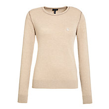 Buy Armani Jeans Cashmere Mix Jumper, Camel Online at johnlewis.com