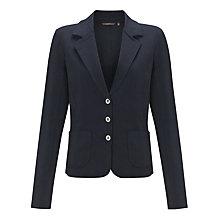 Buy Sandwich Fitted Jersey Jacket, Evening Sky Online at johnlewis.com