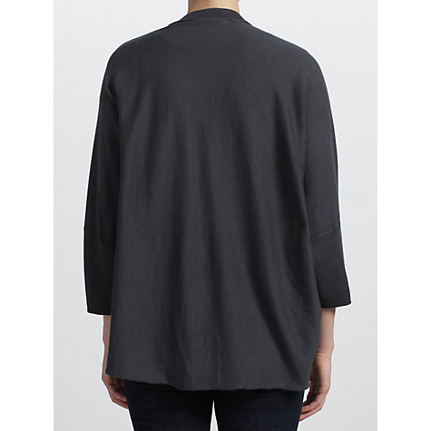 Buy Sandwich Soft Cotton Oversized Cardigan, Evening Sky Online at johnlewis.com