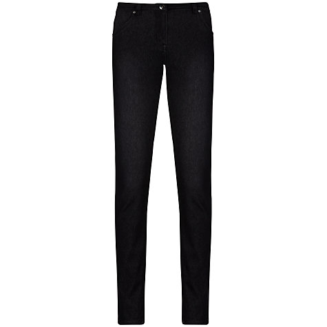 Buy Sandwich Knitted Denim Jeans, Black Online at johnlewis.com