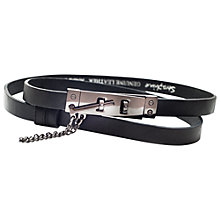 Buy Seraphine Raven Belt, Black Online at johnlewis.com