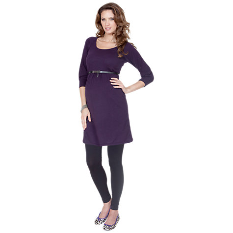 Buy Seraphine Holi Over-Bump Maternity Leggings, Black Online at johnlewis.com