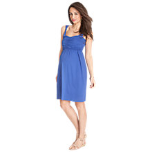 Buy Seraphine Kiki Nursing Dress, Sapphire Online at johnlewis.com