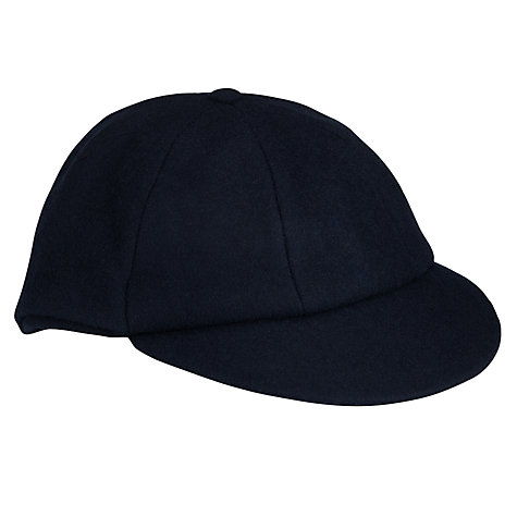 Buy School Plain Cap, Navy Online at johnlewis.com