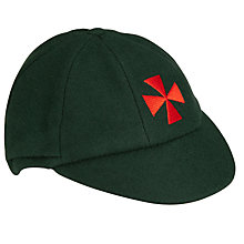 Buy Eaton House School Cap, Bottle Green Online at johnlewis.com