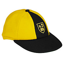 Buy Keble Preparatory School Boys' Cap, Black/Yellow Online at johnlewis.com