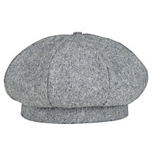 Buy Connaught House School Girls' Beret, Grey Online at johnlewis.com