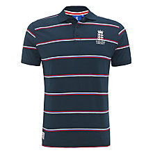 Buy English Cricket Board Stripe Polo Shirt Online at johnlewis.com