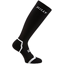 Buy Hilly Monoskin Compression Socks, Black Online at johnlewis.com