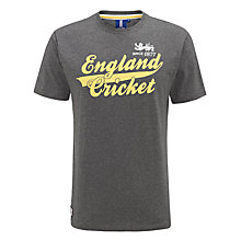 Buy English Cricket Board Script T-Shirt Online at johnlewis.com