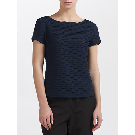 Buy COLLECTION by John Lewis Johanna Top, Navy Online at johnlewis.com