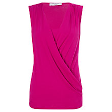 Buy COLLECTION by John Lewis Taryn Drape Front Top Online at johnlewis.com