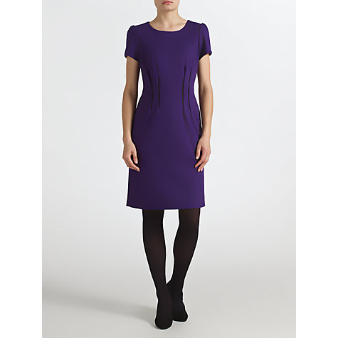 Buy COLLECTION by John Lewis Natalee Flash Waist Dress, Purple Online at johnlewis.com