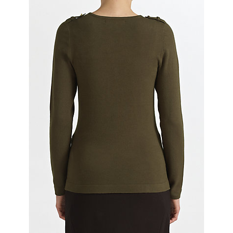Buy COLLECTION by John Lewis Clare Military Jumper Online at johnlewis.com