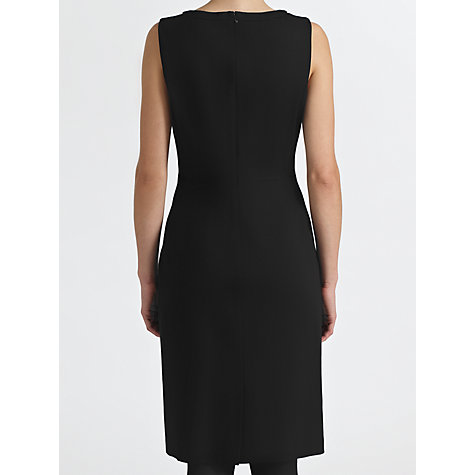 Buy COLLECTION by John Lewis Karina Ponte Shift Dress, Black Online at johnlewis.com