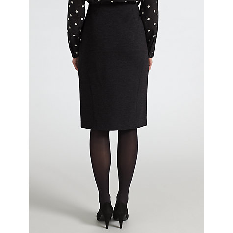 Buy COLLECTION by John Lewis Ana Ponte Pencil Skirt, Grey Online at johnlewis.com