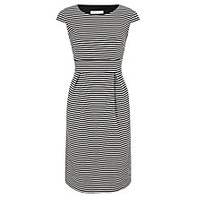 Buy COLLECTION by John Lewis Hayden Striped Dress, Black/White Online at johnlewis.com