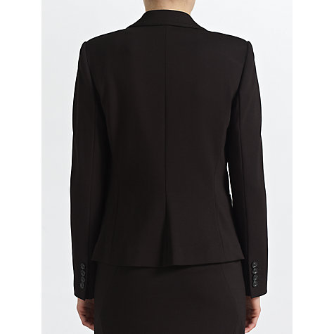 Buy COLLECTION by John Lewis Rebekah Ponte Jacket, Black Online at johnlewis.com