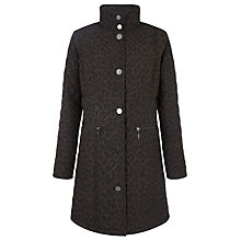 Buy John Lewis Animal Print Quilted Mac Online at johnlewis.com