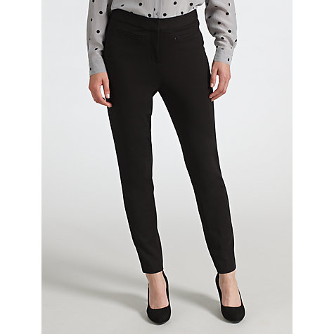 Buy COLLECTION by John Lewis Ashanti Ponte Trousers, Black Online at johnlewis.com