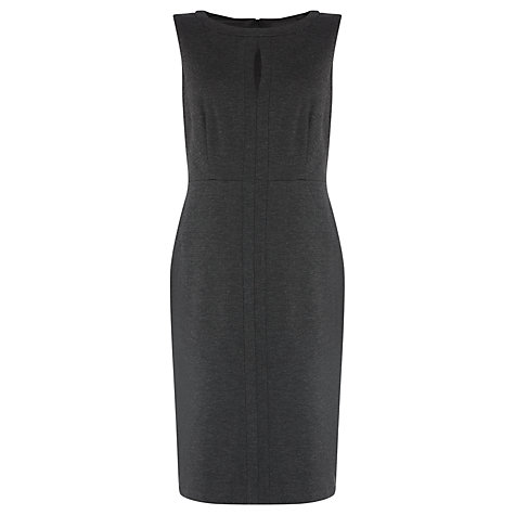 Buy COLLECTION by John Lewis Karina Ponte Shift Dress, Grey Online at johnlewis.com
