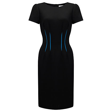 Buy COLLECTION by John Lewis Natalee Flash Waist Dress, Black Online at johnlewis.com
