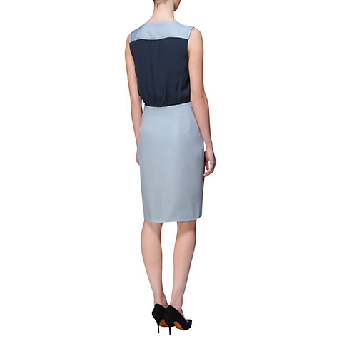 Buy Jaeger Silk Wrap Tulip Dress Online at johnlewis.com