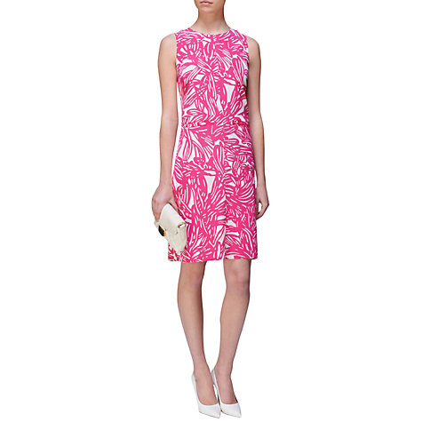 Buy Jaeger Silk Malibu Dress Online at johnlewis.com