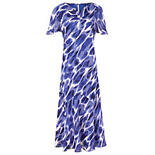 Buy Windsmoor Pebble Printed Dress, Blue Online at johnlewis.com