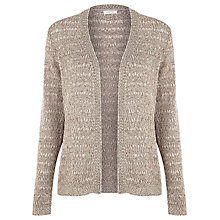 Buy Windsmoor Textured Cardigan, Brown Online at johnlewis.com