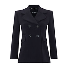 Buy Hobbs Julia Jacket, Navy Online at johnlewis.com